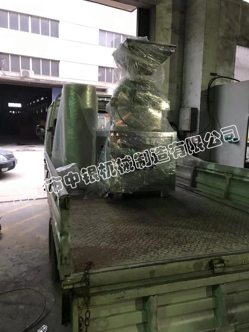 无锡中银40B万能粉碎机成功发往东台