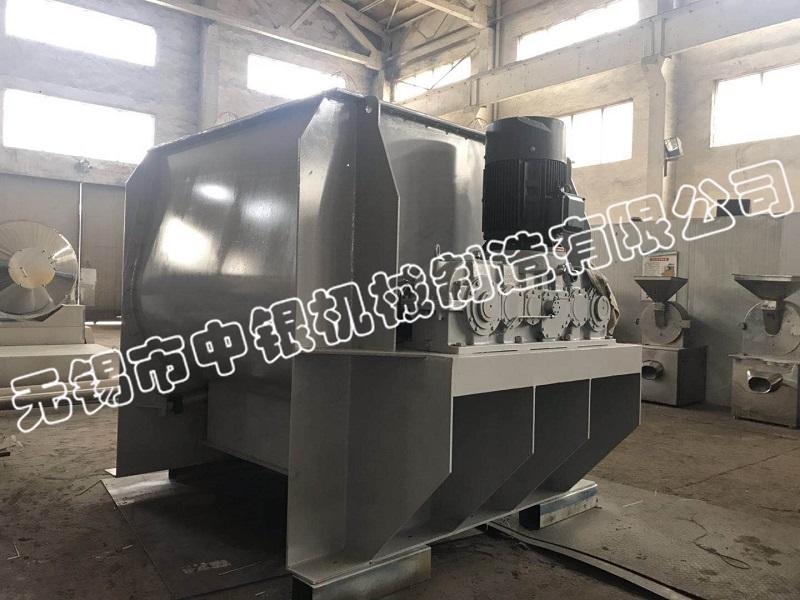 无锡中银5000L碳钢无重力混合机成功发往安徽信远