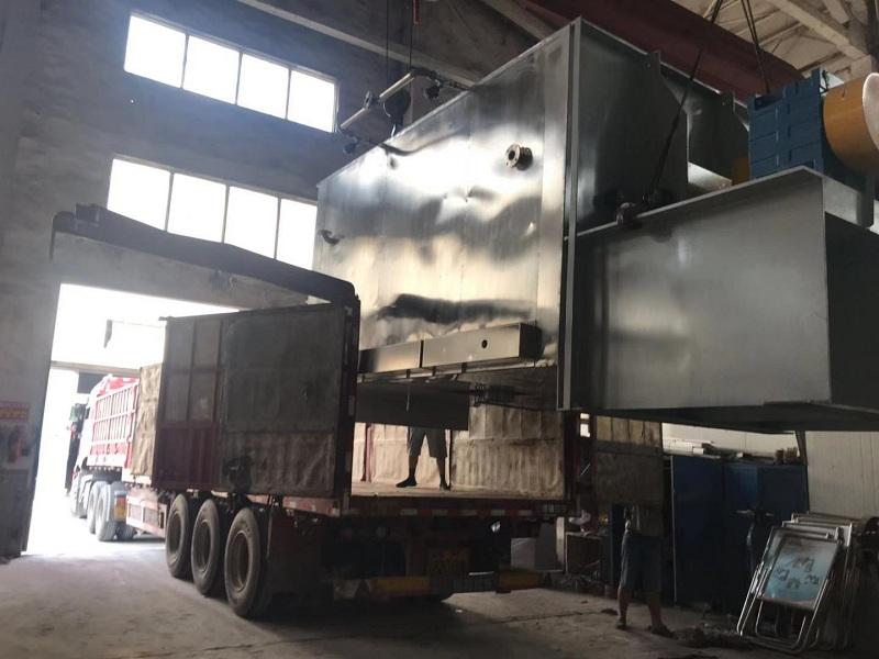 中银机械10000L螺带混合机成功发往山东